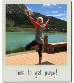You need a yoga retreat!